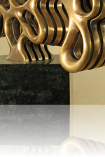 Liquid Bronze (Skulptur) Kunstschmied Mark Prouse